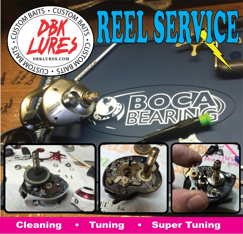 REEL SERVICE AND REPAIR